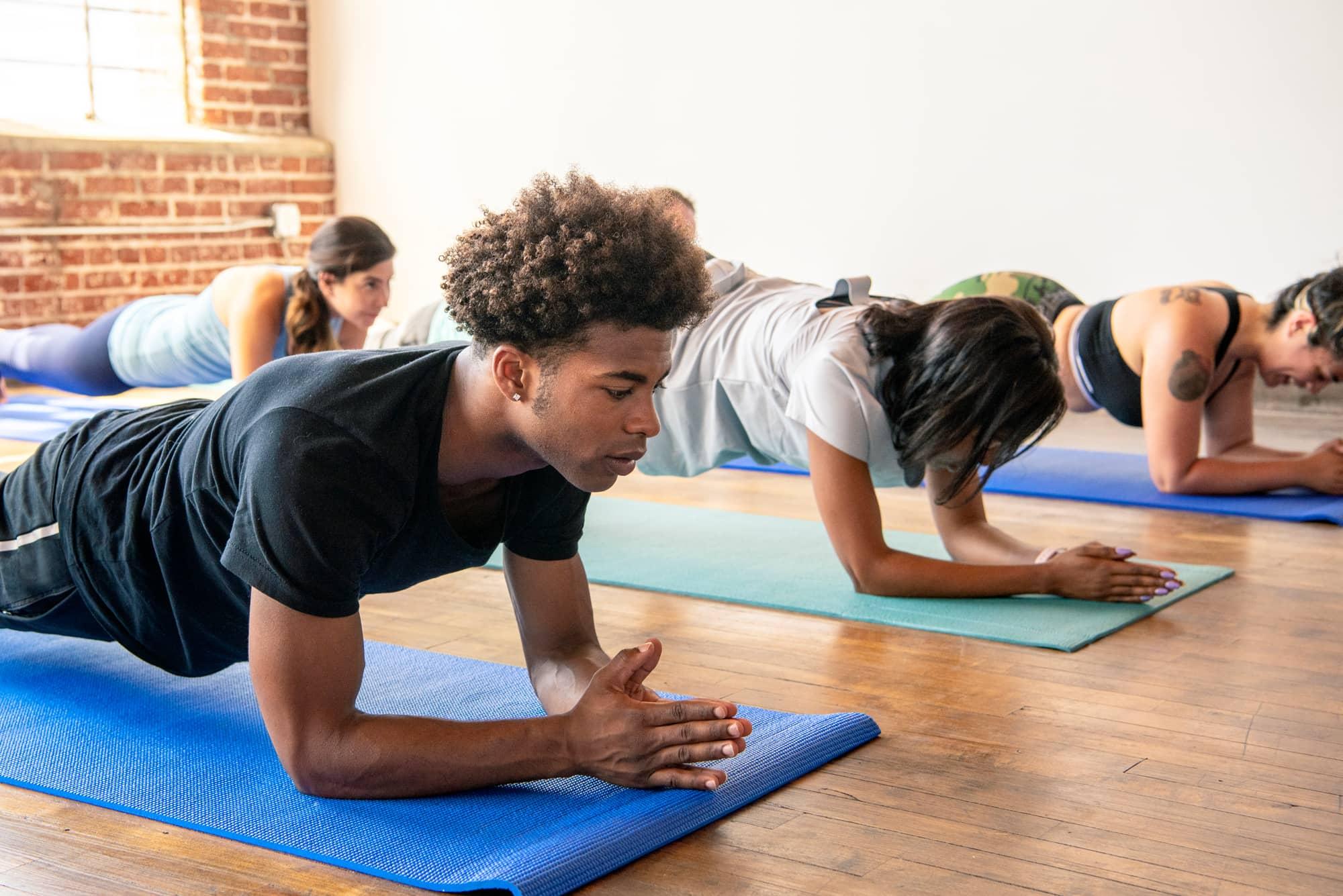Yoga Class Plank